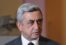 President Serzh Sargsyan answered to the questions raised by the representatives of the mass media