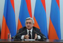 Выступление Президента Сержа Саргсяна на встрече с послами, аккредитованными в ОБСЕ