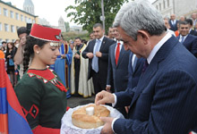 Working visit of President Serzh Sargsyan to NKR