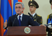 Congratulatory remarks by President Serzh Sargsyan at the reception organized in honor of the Armenian Chess Team – three time Olympian Champions
