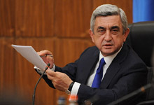 Opening remarks by President Serzh Sargsyan at the meeting invited at the Government of Armenia