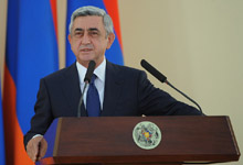 Congratulatory Remarks by President Serzh Sargsyan at the Award Ceremony held on the occasion of the 21st anniversary of Armenia's Independence