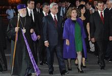 Президент присутствовал на праздничных мероприятиях, посвященных 2794-й годовщине столицы
