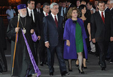 The President of Armenia attended festive events dedicated to the 2794th anniversary of the capital
