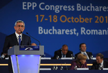 Statement by President Serzh Sargsyan at the European People's Party Convention