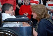 Первая леди Армении Рита Саргсян приняла участие в благотворительной выставке-продаже фонда «Подари жизнь»