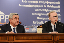 Statement by the President of Armenia, Chairman of the RPA Serzh Sargsyan at the conclusion of the Yerevan Summit of the leaders of the EPP Eastern Partnership member states
