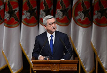 Statement by the President of Armenia, Chairman of the Republican Party of Armenia Serzh Sargsyan at the 14th RPA Convention