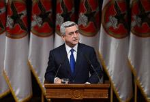 Выступление Президента РА, Председателя РПА Сержа Саргсяна на XIV внеочередном съезде РПА