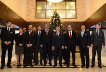 Президент Серж Саргсян посетил открывшийся в Цахкадзоре новый гостиничный комплекс «Цахкадзор Марриотт»
