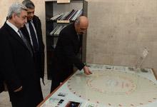 Президент Серж Саргсян посетил институт синхротронных исследований «КЕНДЛ»