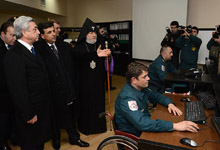 President attended the official ceremony of inauguration of the new premise for the RA Ministry of Emergency Situations
