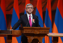 Statement by the President of the Republic of Armenia Serzh Sargsyan at the Ceremony of Inauguration