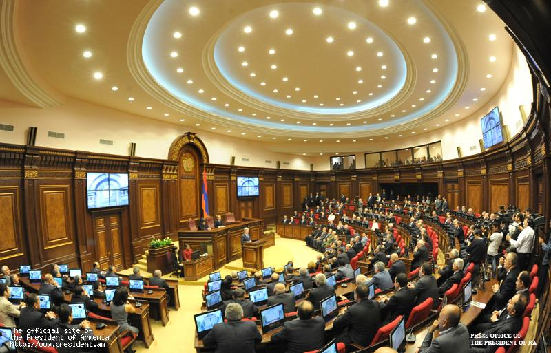 Ազգային ժողովում մեկնարկել է  քառօրյա նիստը. Ուղիղ միացում