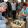 President Serzh Sargsyan meets with the participant of the Miasin 2011 Forum (Together) and Come Back Home program-20.08.2011