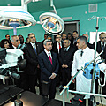 President Serzh Sargsyan visits the recently opened Medical Center of Aparan-28.10.2011
