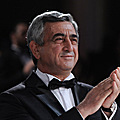 President Serzh Sargsyan at the reception in Los Angeles dedicated to the 20th anniversary of Armenia's independence-25.09.2011