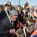 President Serzh Sargsyan meets with the representatives of the Armenian community of Greece-19.01.2011