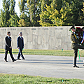 President Serzh Sargsyan and President of France Nicolas Sarkozy who arrived to Armenia on a state visit-06.10.2011