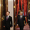 Meeting of President Serzh Sargsyan and President Dmitry Medvedev in the framework of the visit of the President of Armenia to Russia-24.10.2011