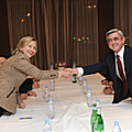 President Serzh Sargsyan met with the US Secretary of State Hillary Clinton in the framework of the Munich Summit of Security Policy Issues-05.02.2011