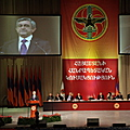President Serzh Sargsyan, Chairman of the Republican Party of Armenia speaks at the 13th Convention of the RPA