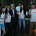 President Serzh Sargsyan meets with the young people from Diaspora who are visiting Armenia in the framework of the Come Back Home program-30.07.2009