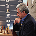 President Serzh Sargsyan in Jermuk at the official ceremony of opening FIDE Grand Prix tournament Jermuk-2009 dedicated to the 80th birth anniversary of Tigran Petrossian-09.08.2009