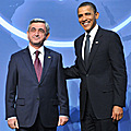 Presidents of Armenia and US at the Global Summit for Nuclear Safety