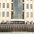 President Serzh Sargsyan at the ceremony of inauguration of the new premise of the Ministry of Defense-21.09.2008