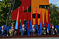 President - at the Military Parade dedicated to the 25th anniversary of Armenia's Independence