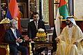 President Sargsyan at the meeting with the Vice President, Prime Minister, Minister of Defense and Emir of Dubai Mohammed bin Rashid Al Maktoum