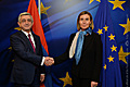 President Sargsyan's meeting with the High Representative of the EU, Vice-President of the European Commission Federica Mogherini in Brussels