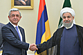 Serzh Sargsyan and Hassan Rouhani met in Tehran in the framework of President's working visit