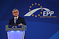 President Serzh Sargsyan speaks at the EPP Convention in Bucharest