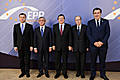 Serzh Sargsyan and President of the EPP W. Martens, President of the EC J. M. Barroso, President of Georgia M. Sahakashvili and Prime Minister of Moldova V. Filat participated at the Yerevan Summit of the leaders of the EPP Eastern Partnership states
