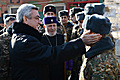 President Serzh Sargsyan visits the defense positions of Armenia on the eve of the New Year and Holly Christmas holidays
