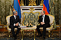 In the framework of his working visit to the Russian Federation, President Serzh Sargsyan met with the President of RF Vladimir Putin
