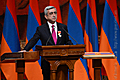 Serzh Sargsyan assumes the office of the President of the Republic of Armenia at the extraordinary session of the RA National Assembly