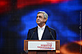 RA Presidential candidate Serzh Sargsyan speaks in the framework of his pre-election campaign
