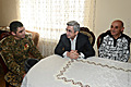 RA Presidential candidate Serzh Sargsyan in Stepanavan is hosted by the family of the serviceman Artak Ghabuzian