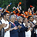 President Serzh Sargsyan at the ceremony of closing Baze-2010 gathering in Tsakhkadzor-27.08.2010