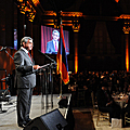 President Serzh Sargsyan speaks at the reception invited by the Embassy of Armenia in the United States, the RA Permanent Representation at the UN and the Armenian-American organizations-23.09.2011