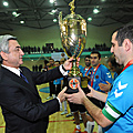 President Serzh Sargsyan attended the final match of mini-football tournament dedicated to the 125th birth anniversary of Garegin Nzhdeh-19.11.2011