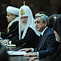 President Serzh Sargsyan at the sitting of the Presidium of the CIS Inter-Faith Council-28.11.2011