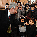 President Serzh Sargsyan meets with the representatives of the Armenian community of Georgia in the framework of his official visit to Georgia-30.11.2011