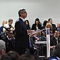 President Serzh Sargsyan at the reception held by the Mayor of Marseille Jean-Claude Gaudin in the framework of his working visit to France-07.12.2011