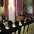 President Serzh Sargsyan meets with the Italian businessmen in the framework of his official visit to Italy-12.12.2011