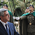 Official ceremony of welcoming President Serzh Sargsyan at the Presidential Palace in Italy-12-12.2011