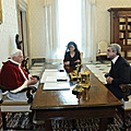 President Serzh Sargsyan meets with His Holiness Pope Benedict XVI in Vatican-12.12.2011